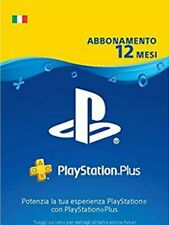 PS Plus 12 Mesi (1 Anno)