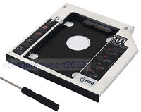 2nd SATA Hard Drive HDD SSD Caddy Adapter for Lenovo B50-45 G50-45 E51-80 B50-10