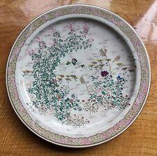 "Japanese Satsuma plate signed Taizan Yohei IX. Antique Meiji period. 7 ¼"" d."