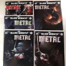 Dark Nights Metal 5 Comic Francesco Mattina Variant Lot (2 3 4 5 6) DC 2018