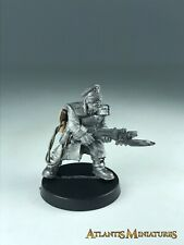 Metal Imperial Guard Steel Legion Character - Warhammer 40K X864