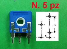 Trimmer Carbone n.5 pz 470 K ISKRA 14x14 Regolazione Verticale