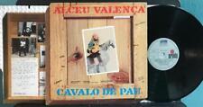 ALCEU VALENCA CAVALO DE PAU ORIG 1982 BRAZIL LP~INSERT~TROPICALIA PSYCH BOSSA NO