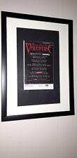 Bullet for my Valentine - framed original promo ad for 2008 tour