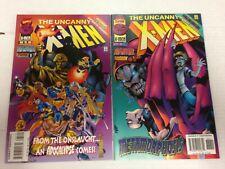 The Uncanny X-Men #335 336 337 338 339 340 341 342 343 344 345 1996 1997