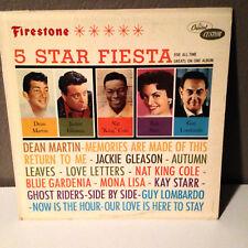 "Jackie Gleason, Dean Martin, Kay Starr, Nat King Cole - 12"" Vinyl Record LP - EX"