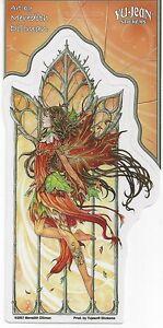 FALL FIRE FAERY Fairy Sticker Car Decal Meredith Dillman autumn fallfire faerie