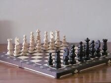 Brand New ♞ Hand Crafted Ambassador  Wooden Chess Set 56cm x 56cm♚