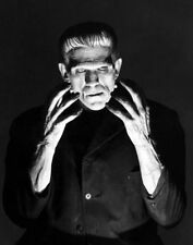 Famous Monsters Frankenstein Photo Print 14 x 11""