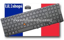 Clavier Français Original Pour HP Compaq EliteBook 8560W 8570W Rétroéclairé