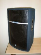 """PA / DJ Speakers X 2 Yorkville 2 x 15"""" and horn speakers"""