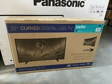 """Cello 32"""" CURVED SCREEN LED Digital TV with Freeview - BNIB"""