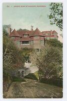 Artistic Home in SAUSALITO CA Vintage California Postcard