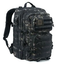 Coolton Tactical Backpack, Black Multicam Military Army Molle Backpack... Canada