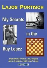 Schach Lajos Portisch - My Secrets in the Ruy Lopez -  Spanisch - NEU / New