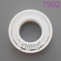 7902 Full Ceramic Zirconia Oxide Angular Contact Ball Bearing ZrO2 15 x 28 x 7mm