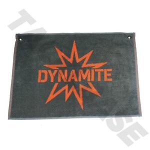 DYNAMITE BAITS LARGE HAND TOWEL WITH BELT RING -  CARP MATCH FISHING