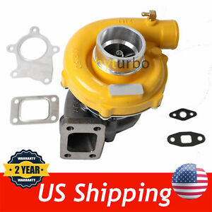 T04E T3/T4 .63 A/R 57 TRIM YELLOW TURBOCHARGER COMPRESSOR 400+HP BOOST STAGE III