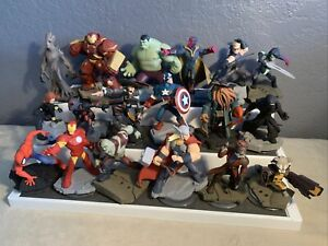Disney Infinity 2.0 3.0 Lot Of 18 Figures Marvel Star Wars Pirates Of Caribbean