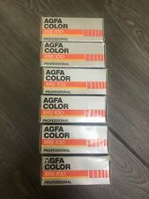 FROZEN expired 1987 Agfa Color XRS 100 Professional Medium Format