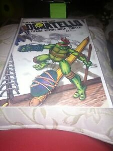 Teenage Mutant Ninja Turtle: Donatello #1A, Mirage, 1986, NM-