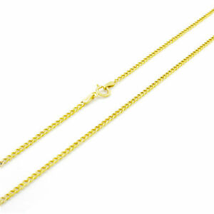"""REAL 14K Yellow Gold 3MM 7""""' Womens Curb Cuban Chain Open Link BRACELET SALE NEW"""