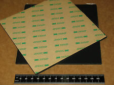 """SORBOTHANE SHEET 6X6x1/10"""" VIBRATION ISO RUBBER PAD 70D with 3M ADHESIVE BACKING"""