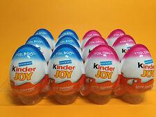 4 X *2 Girls* *2 Boys - Chocolate Kinder Joy Surprise Eggs Gift FREE TIC TAC