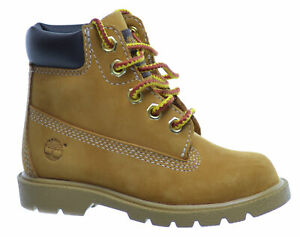 Timberland Baby Toddlers 6 Inch Boots Wheat 10860