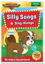 Silly Songs & Sing-Alongs DVD by Rock 'N Learn (New)