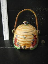 RARE VINTAGE ROYAL WINTON GRIMWADES BEEHIVE HONEY POT BISCUIT BARREL