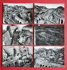 6 x Foto AK ITALIEN Modellbau Modelleisenbahn     ( 23515