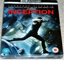 Inception Limited Edition Steelbook 4K ULTRA HD+Blu Ray / WORLDWIDE SHIPPING