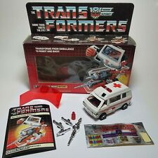 Transformers G1 RATCHET Complete 1984 Vintage Hasbro Takara Action Figure w/ BOX