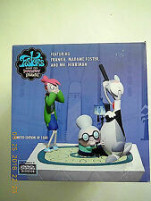 FOSTER'S HOME FOR IMAGINARY FRIENDS FRANKIE, MADAME FOSTER & MR HERRIMAN STATUE!