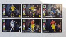 6x Limited Edition Panini Adrenalyn XL Champions League 12/13 Messi Reus Götze