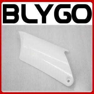 White Plastic Rear LEFT Side Number Guard Fender APOLLO ORION PIT PRO Dirt Bike