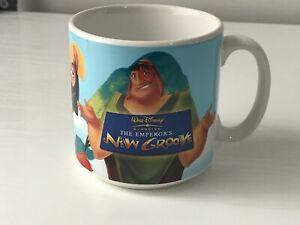 WALT DISNEY THE EMPERORS NEW GROOVE CERAMIC  COFFEE MUG - NEW UNUSED  at fault