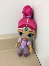"""Nickelodeon Shimmer and Shine Pink & Purple Shimmer Genie 10"""" Plush Doll AR94"""