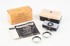 Kodak Retina Camera Close Up Rangefinder with 2 N Lenses in Box NEAR MINT V01