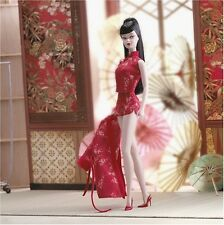 Silkstone Barbie Chinoiserie Red Moon Fashion Model Collection 2004