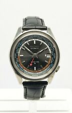 Seiko Men's Vintage World Time Automatic steel Watch Serviced 6117-6010