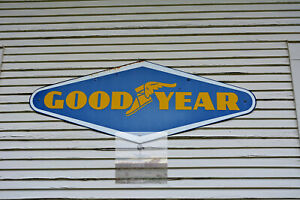 Vintage Goodyear Tires Sign On Abandoned Gas Station 8 x 10 Photo Print