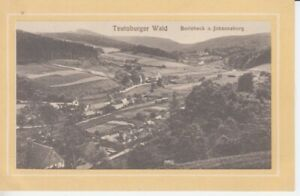 Carte Postale Nordrhein - Westfalen Berlebeck Et Johannaberg 1912