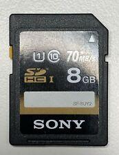 Sony SD HC Memory Card 8GB 70mb/s Class 10