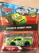 Disney PIXAR Cars Synthetic Rubber Tires #82 SHINY WAX Free Shipping
