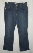 Levi's 515 Jeans 8 Short Boot Cut Lower Rise Dark Wash Women's 32x29 Stretch