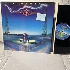 Journey Raised On Radio- Columbia QC 39936 Pitman VG++/VG+ Rock Record