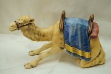 GOEBEL NATIVITY FIGURINE CAMEL KNEELING 46 820 12 LARGE 9.5in LONG M I HUMMEL