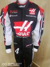 Haas kart racing suit digital printed made to measure Level 2 karting suit